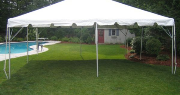20x20 Party Canopy Backyard Design Tent Rentals Tent