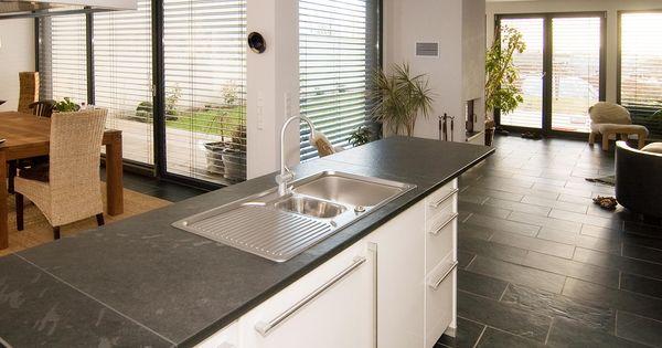 Küchengestaltung mit Schiefer und Naturstein Schiefer - badezimmer abluft