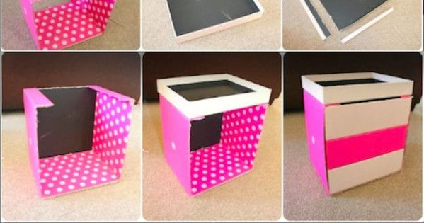 diy commode en bo tes beaut diy pinterest rangement de maquillage bo tes de rangement et. Black Bedroom Furniture Sets. Home Design Ideas