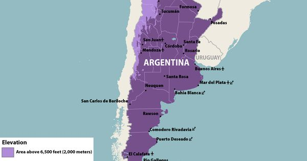 The Categories Shown On This Map Are Intended As A General - Argentina zika map