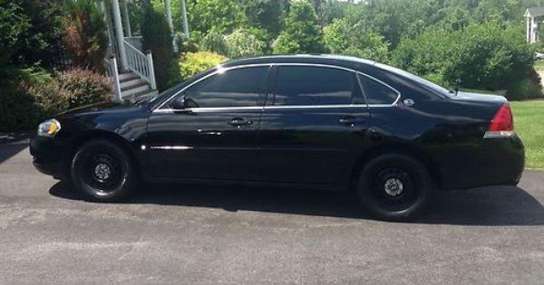 Impala 9c1 2007 Chevy Impala Police 9c1 Black 75k Us 6 050 00