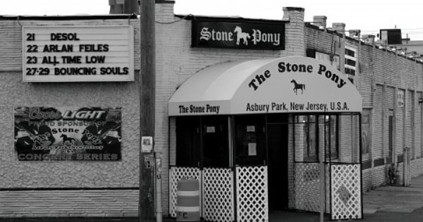 The Historic Stone Pony In Asbury Park Always An Easy Way To Take In Some Live Music Asbury Park Nj Beaches New Jersey