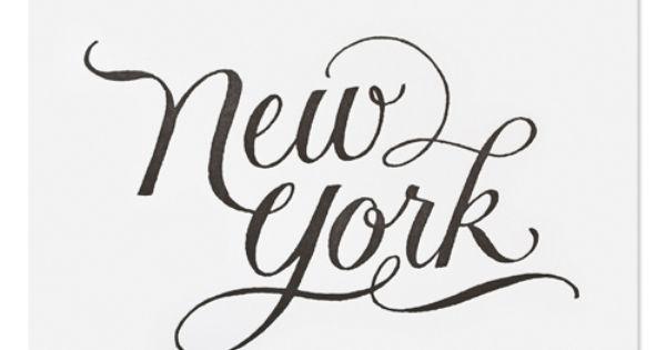 New York Art Print from Sugar Paper, Los Angeles