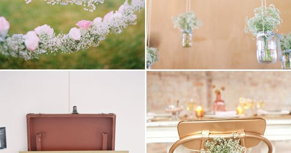 Baby's Breath Wedding Ideas