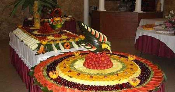 Mesa de frutas pesquisa google maravilhas com frutas - Adornos de frutas para mesas ...