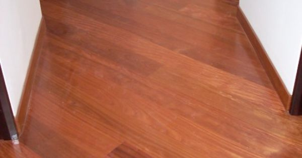 Hardwood Floors For A Hallway With Hardwood Baseboards