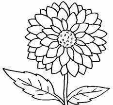 Faciles Dibujos Para Colorear Adultos Flores