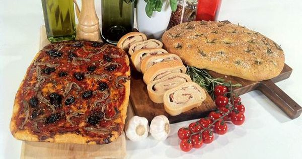 Gino D'Acampo Focaccia Recipe from Lets Do Lunch With Gino ...