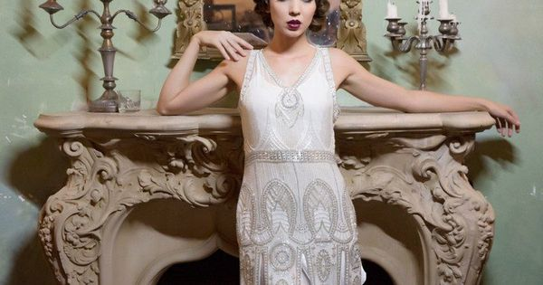 Robe Charleston Ann Es 20 D Cor E De Perles De Style Gatsby Mode Fashion Pinterest