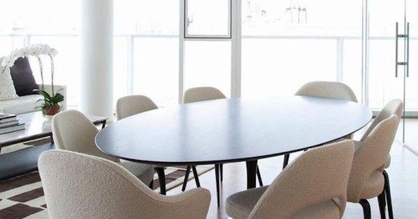 15 Astounding Oval Dining Tables for Your Modern Dining  : b1db830b197b3dc2a1342527db86dbaf from www.pinterest.com size 600 x 315 jpeg 25kB