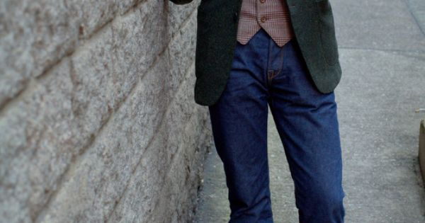 lnsee: Rugged Fineries by the Armoury: Ring Jacket Tweed Jacket in Green