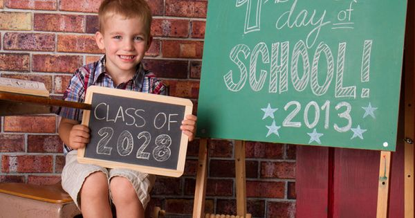 copyright 2013 Pixels On Paper, Inc. first day of school pictures. Shut