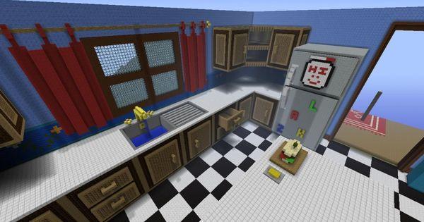 The giant house giant kitchen minecraft xbox 360 for Minecraft kitchen ideas xbox