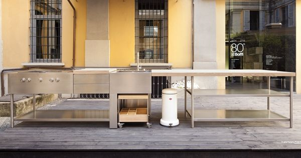 outdoork che open by boffi design piero lissoni mobile cooking pinterest. Black Bedroom Furniture Sets. Home Design Ideas