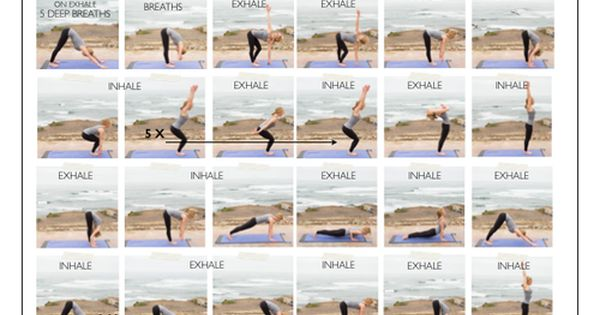FRIDAY FLOW: A Yoga Warm-Up Sequence — The Food Click ...