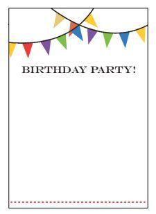 Birthday Party Invitation Templates Free Download Party Invite Template Birthday Party Invitations Printable Free Birthday Invitation Templates