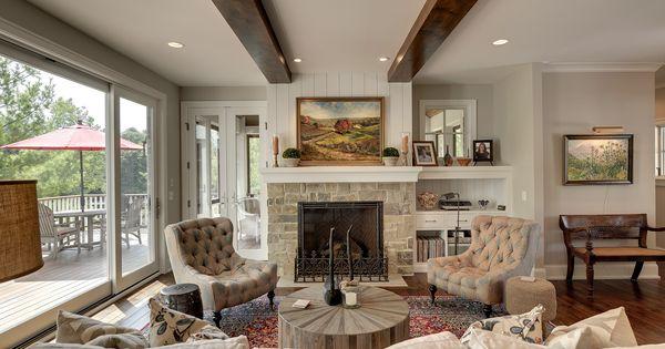 Living Room From A Stonewood Llc Custom Home Living