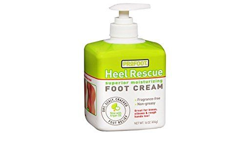 Profoot Care Heel Rescue Superior Moisturizing Foot Cream 16 Oz