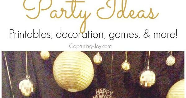 New years eve party ideas last minute the o 39 jays and new year 39 s - Last minute new year s eve party ideas ...