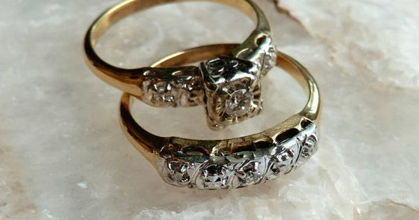 Your Place To Buy And Sell All Things Handmade Diamond Wedding Rings Sets Wedding Ring Sets Diamond Wedding Rings