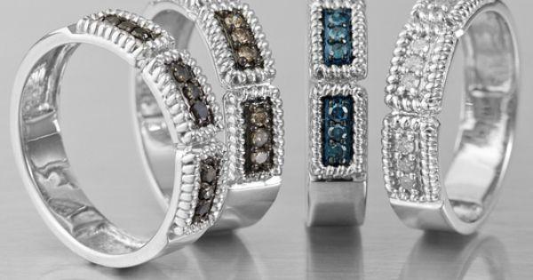 Delicious Mocha Diamond Rings Jewelry Television Www