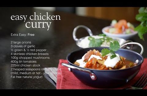 Easy chicken curry - Recipes - Slimming World - Make with ...