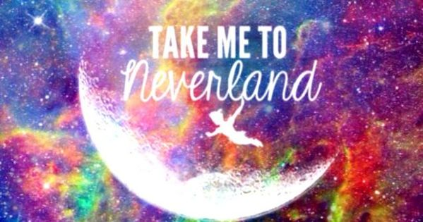 Tumblr Backgrounds Quotes Google Search: Take Me To Neverland - Google Search