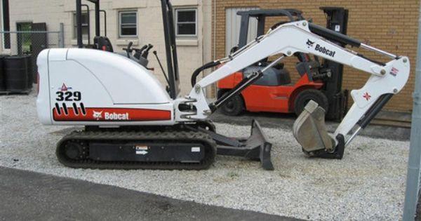 Bobcat 329 Mini Excavator Service Repair Manual Instant Download A2pg11001 Above Mini Compact Service