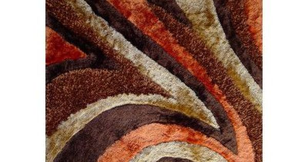 Red Barrel Studio Nevin Hand Tufted Brown Area Rug Area Rugs Shag Area Rug Rugs