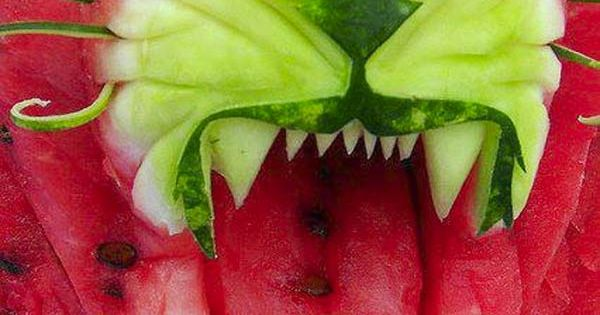 Tiger Watermelon Art