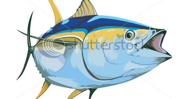 Tuna Fish Money Clip