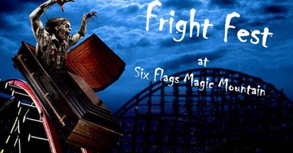 Scaaaaary Burbank Six Flags Thrill