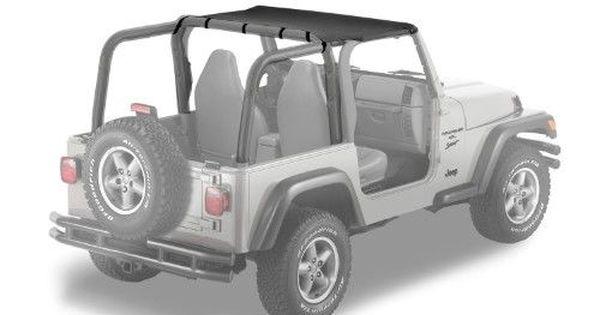 Bestop Safari Header Bikini Top Black Diamond Wrangler Tj Jeep Wrangler Jeep