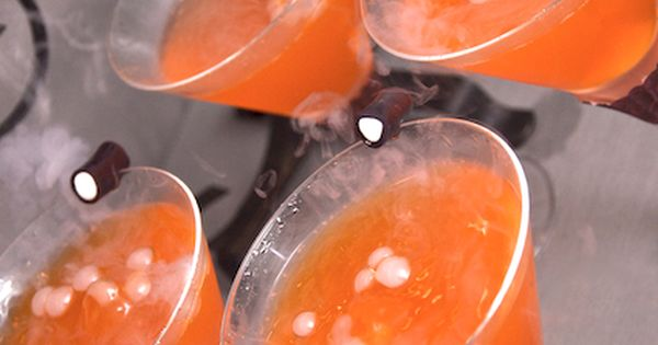 @Kathleen DeCosmo Likes--> Halloween Halloweenie-tini [don't you love saying that?] The recipe