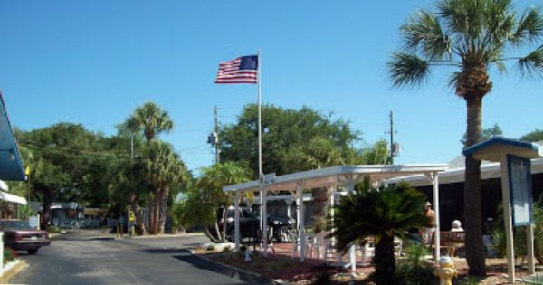 Pin By Passport America On Featured Campgrounds Rv Parks And Resorts Rv Parks Madeira Beach Places In Florida