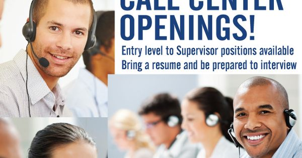 Call Center Job Fair in Edina, Wednesday, August 8 from 10 am to - call center supervisor