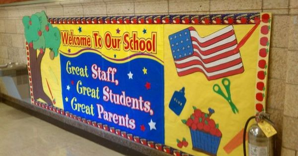 Welcome Back Elementary Bulletin Board Welcome To Our