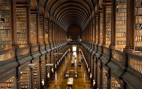 50 Most Beautiful Libraries In The World Trinity College Library Beautiful Library Old Libraries