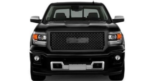 Gmc Sierra Grille Gloss Black Denali Style Full Replacement With