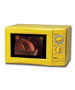 Sanyo Ems1053s Yellow Microwave Oven