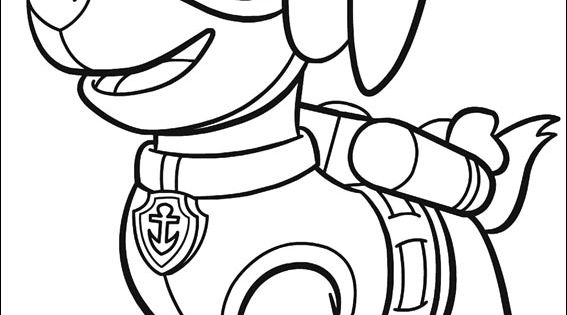 Paw Patrol Thanksgiving Coloring Pages To Print : Paw patrol coloring picture ritmallar pinterest m�nster
