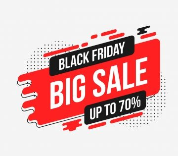 Black Friday Sale Abstract Background Sale Illustration Png And