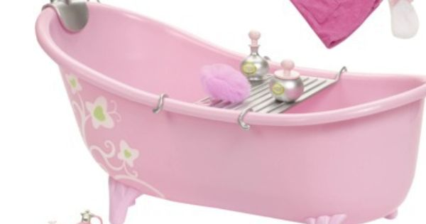 Target Our Generation Home Accessory Pink Bathtub