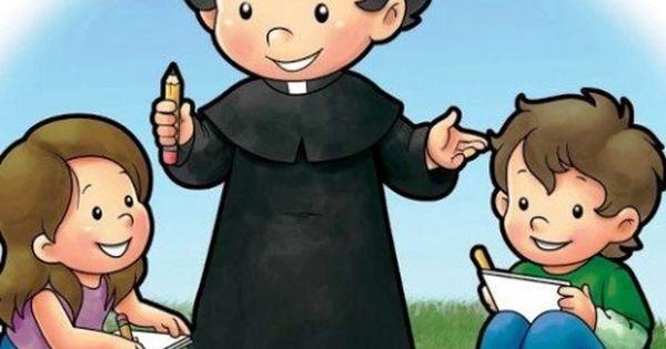 Pin De Osli En Jóvenes Salesianos Vida De Don Bosco Juan Bosco Semana Santa Niños