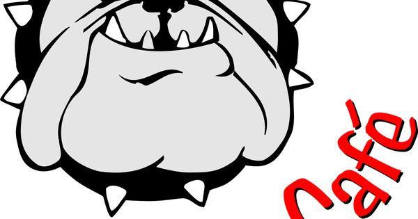 bulldog clip clipart free clip art images pbis pinterest Bulldog Paw Clip Art Bulldog Clip Art for Logos
