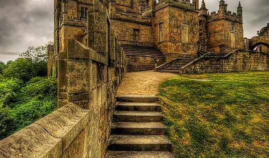 Bolsover Castle, Derbyshire, England Originally built by the Peverel family in the