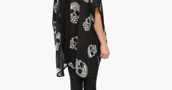 skull kimono necessary clothing dream closet