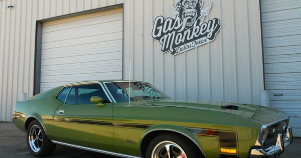 1972 ford mustang gas monkey garage fast n 39 loud gas for Garage ford annecy 74