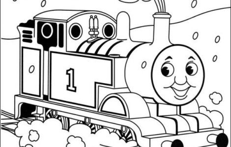 Thomas The Train Coloring Coloring