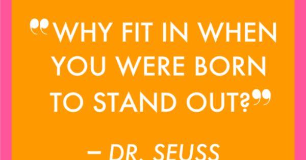 Dr. Seuss is a truth teller.